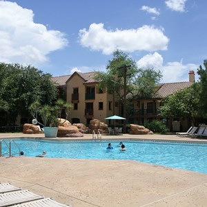 1 of 2: Disney's Coronado Springs Resort - Ranchos quiet pool