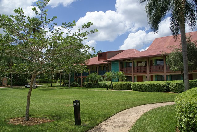 Disney's Coronado Springs Resort - Cabanas 8a buildings