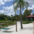 Disney&#39;s Coronado Springs Resort - Cabanas beach area