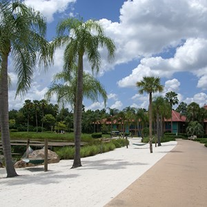 8 of 10: Disney's Coronado Springs Resort - Cabanas landscape