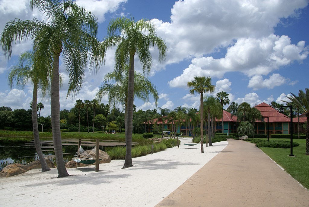 Cabanas buildings and grounds