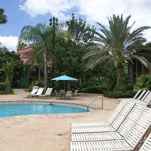 1 of 2: Disney's Coronado Springs Resort - Cabanas building 9a  next to the Cabanas quiet pool