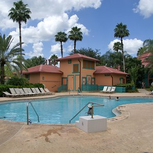 2 of 2: Disney's Coronado Springs Resort - The Cabanas quiet pool