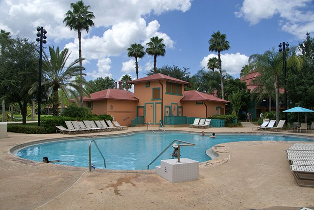Disney's Coronado Springs Resort - The Cabanas quiet pool