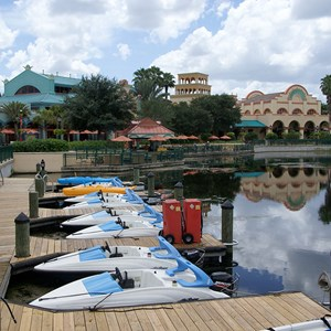 2 of 2: Disney's Coronado Springs Resort - Watercraft from the La Marina