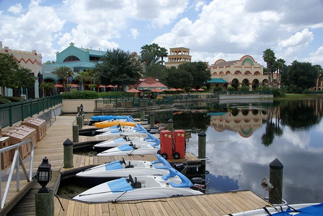 Disney's Coronado Springs Resort - Watercraft from the La Marina
