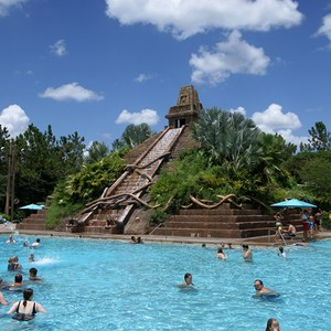 1 of 14: Disney's Coronado Springs Resort - The Lost City of Cibola feature pool