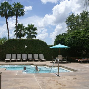3 of 14: Disney's Coronado Springs Resort - The Dig Site hot tub