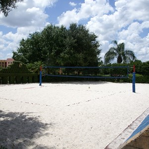 6 of 14: Disney's Coronado Springs Resort - The Dig Site volleyball court