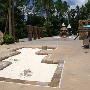 10 of 14: Disney's Coronado Springs Resort - Explorer's Playground