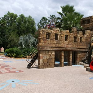 11 of 14: Disney's Coronado Springs Resort - Explorer's Playground