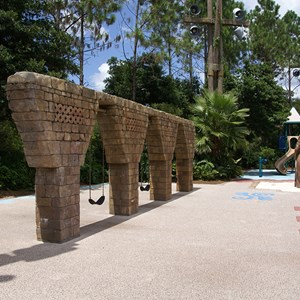 9 of 14: Disney's Coronado Springs Resort - Explorer's Playground