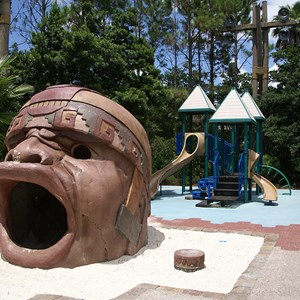 12 of 14: Disney's Coronado Springs Resort - Explorer's Playground