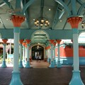 Disney&#39;s Coronado Springs Resort - The view from the car and bus arrival area towards El Centro