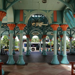 4 of 16: Disney's Coronado Springs Resort - El Centro lobby and registration
