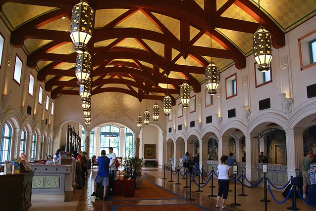 Disney's Coronado Springs Resort - El Centro checkin  registration area