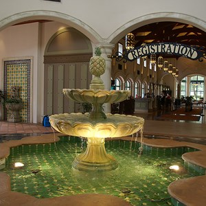 5 of 16: Disney's Coronado Springs Resort - El Centro lobby area