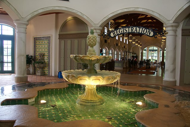 Disney's Coronado Springs Resort - El Centro lobby area