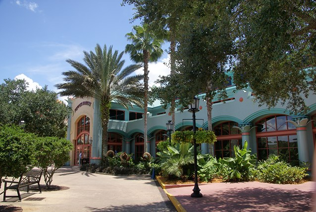 Disney's Coronado Springs Resort - The Pepper Market exterior