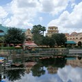 Disney's Coronado Springs Resort - El Centro viewed from Marina dock