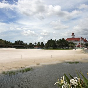 3 of 13: The Villas at Disney's Grand Floridian Resort - The beach that will be the site of the new building