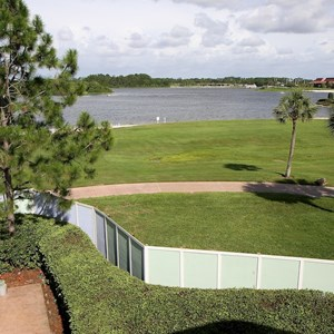 11 of 13: The Villas at Disney's Grand Floridian Resort - Construction walls move to the beach