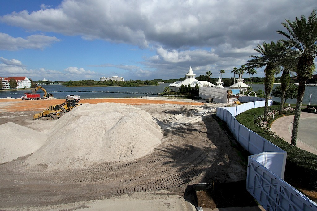 Grand Floridian DVC construction