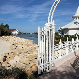 1 of 5: The Villas at Disney's Grand Floridian Resort - New shore line at Grand Floridian DVC site