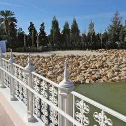 New shore line at Grand Floridian DVC site