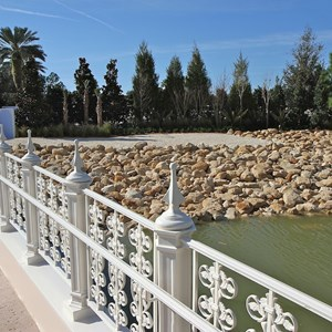 4 of 5: The Villas at Disney's Grand Floridian Resort - New shore line at Grand Floridian DVC site