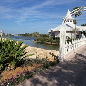 5 of 5: The Villas at Disney's Grand Floridian Resort - New shore line at Grand Floridian DVC site