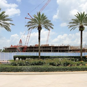 1 of 12: The Villas at Disney's Grand Floridian Resort - Disney's Grand Floridian DVC construction