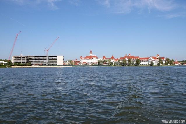 The Villas at Disney's Grand Floridian Resort - Disney's Grand Floridian DVC construction