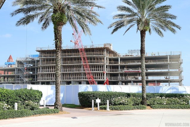 The Villas at Disney's Grand Floridian Resort - Disney's Grand Floridian DVC construction