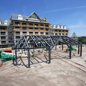 1 of 6: The Villas at Disney's Grand Floridian Resort - Disney's Grand Floridian DVC construction