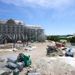 1 of 8: The Villas at Disney's Grand Floridian Resort - Disney's Grand Floridian DVC construction