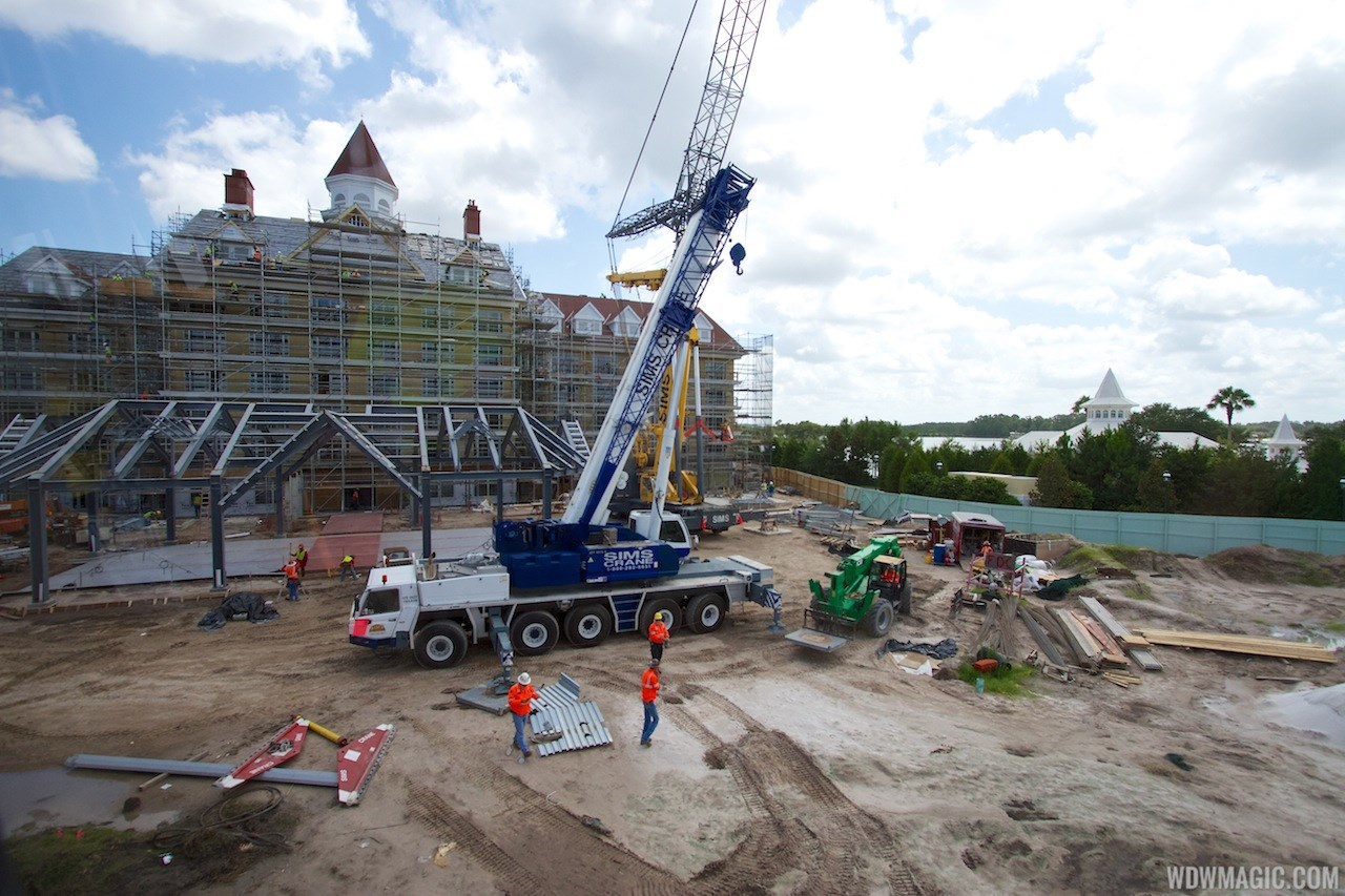 Disney's Grand Floridian DVC construction