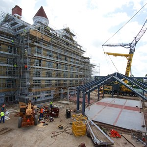 4 of 7: The Villas at Disney's Grand Floridian Resort - Disney's Grand Floridian DVC construction