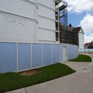 8 of 16: The Villas at Disney's Grand Floridian Resort - Disney's Grand Floridian DVC construction