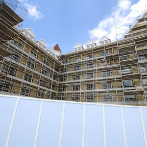 10 of 16: The Villas at Disney's Grand Floridian Resort - Disney's Grand Floridian DVC construction