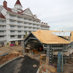 3 of 7: The Villas at Disney's Grand Floridian Resort - Disney's Grand Floridian DVC construction