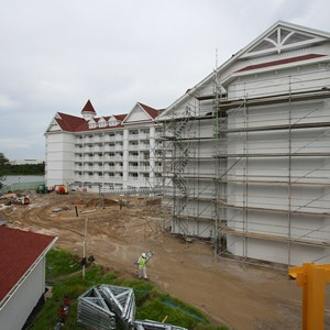 6 of 7: The Villas at Disney's Grand Floridian Resort - Disney's Grand Floridian DVC construction