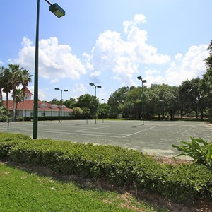 1 of 2: Disney's Grand Floridian Resort and Spa - Grand Floridian tennis courts refurbishment