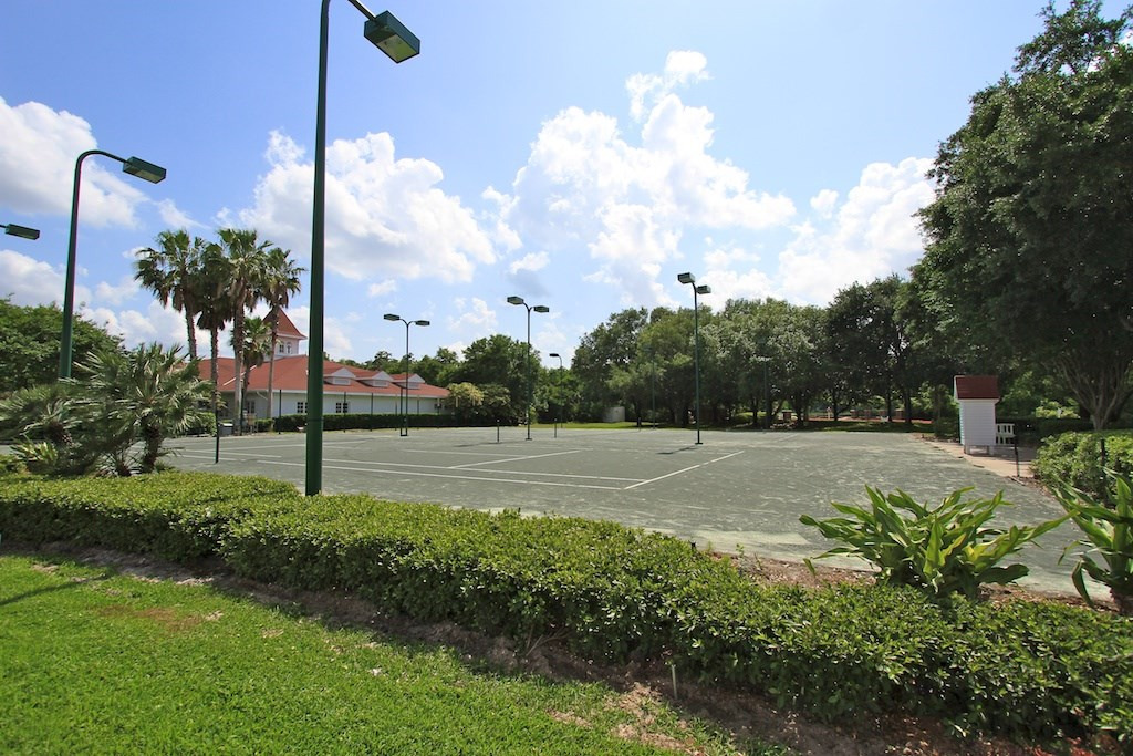 Grand Floridian tennis courts refurbishment
