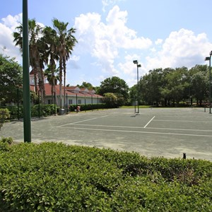 2 of 2: Disney's Grand Floridian Resort and Spa - Grand Floridian tennis courts refurbishment