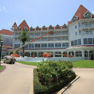 1 of 4: Disney's Grand Floridian Resort and Spa - Exterior refurbishment
