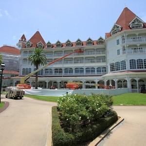 1 of 4: Disney's Grand Floridian Resort and Spa - Exterior refurbishment