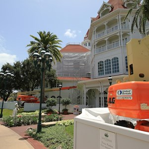 2 of 4: Disney's Grand Floridian Resort and Spa - Exterior refurbishment