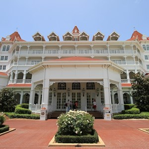 4 of 4: Disney's Grand Floridian Resort and Spa - Completed refurbishment on beach facing side