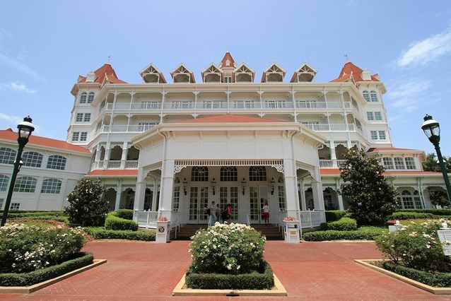 Disney's Grand Floridian Resort and Spa - Completed refurbishment on beach facing side